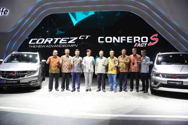 IIMS 2019: Ini Harga Wuling Cortez Turbo dan Confero ACT