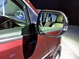 Electric adjustable mirror