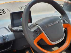 Setirnya layaknya mobil konvensional, di palangnya ada tombol-tombol juga (Uzone.id - Bagja)