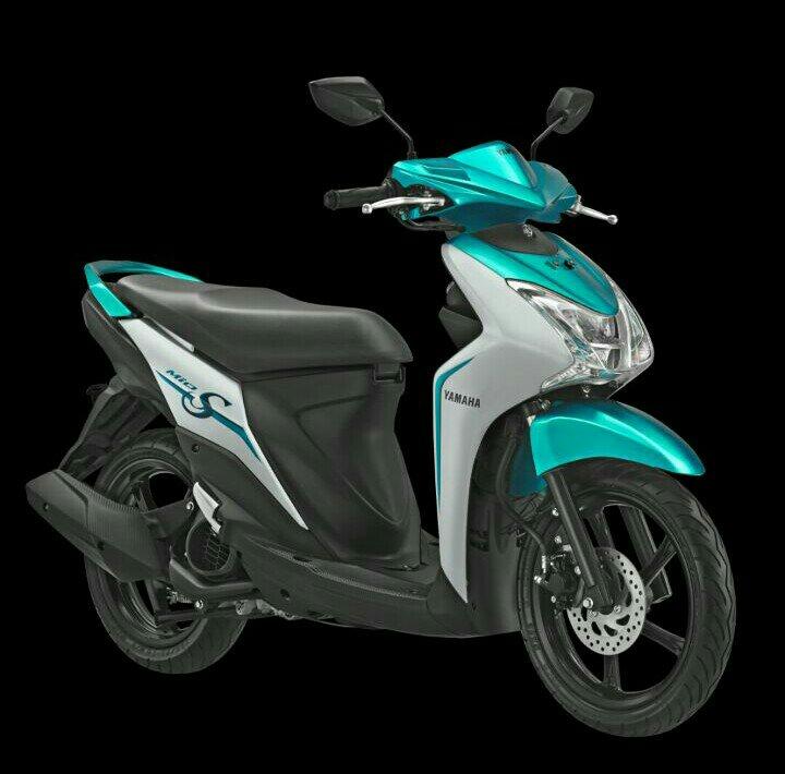 Gebrakan Yamaha Mio S 125cc Blue Core