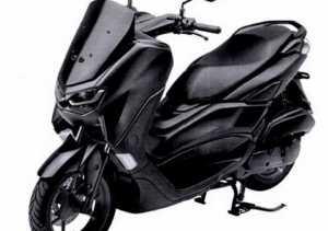 Penampakan Yamaha NMax facelift (Ist)