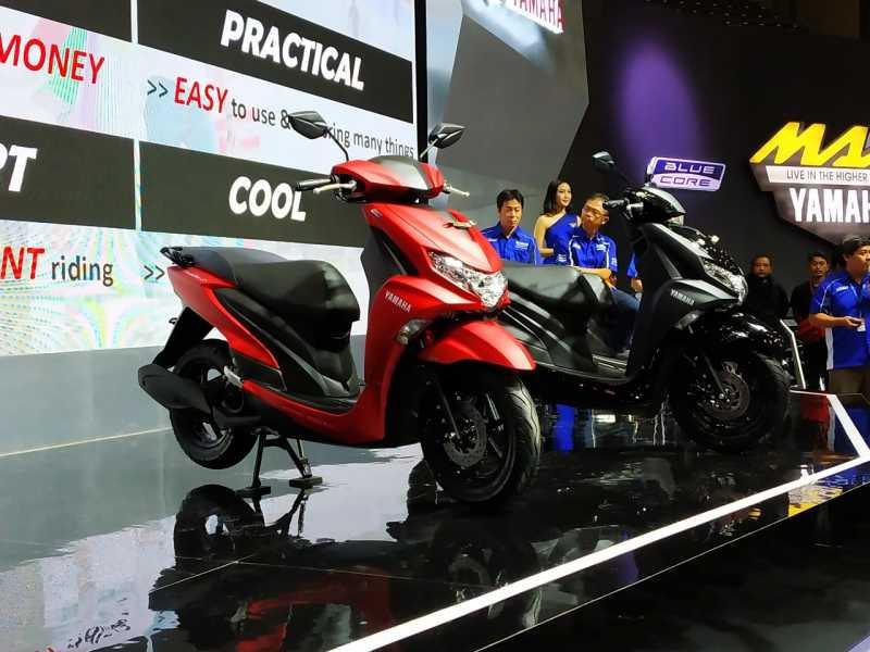 IMOS 2018: Yamaha Luncurkan FreeGo, Matik 125cc Tertinggi di Kelasnya