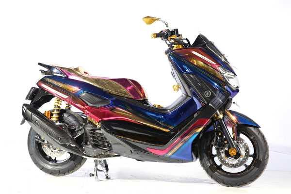Foto: Kerennya Jajaran Modif Yamaha X-Max, N-Max, Aerox dan Lexi
