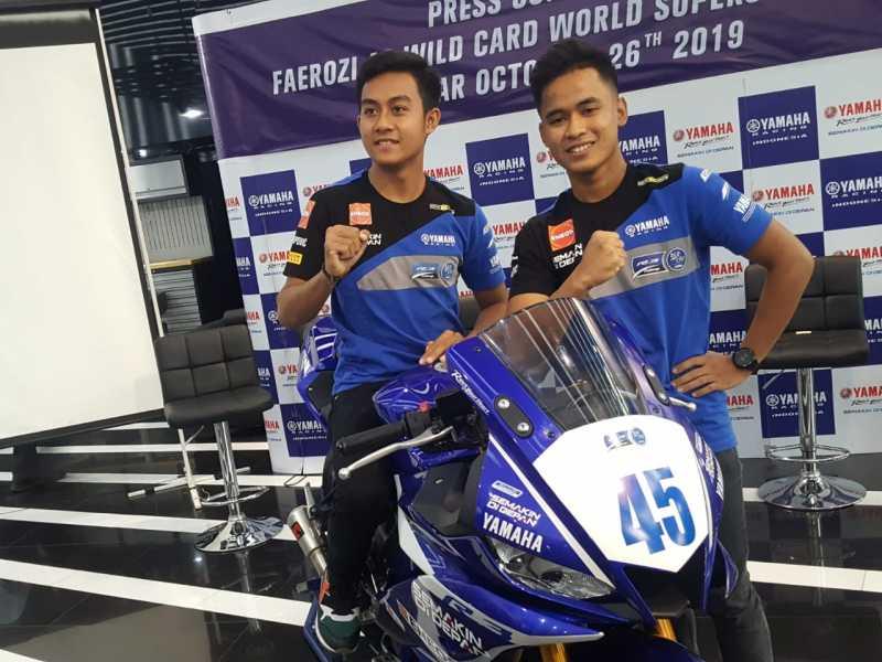 Ikut World Supersport 300, Faerozi Pakai Yamaha R3 Buatan Indonesia