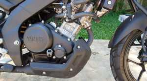 Mesin masih sama dengan para saudaranya disegmen sport 150cc. Mesin VVA berkapasitas 155cc yang lebih dari cukup untuk harian (Bagja - Uzone.id)