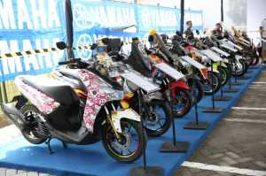 Yamaha CustoMAXI Siap Guncang Bandung