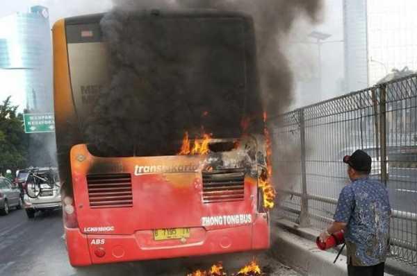 Nostalgia, Penyebab Kebakaran Bus Transjakarta yang Perlu Diantisipasi Saat Ini