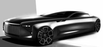 Rolls Royce Konsepkan SUV untuk Batman
