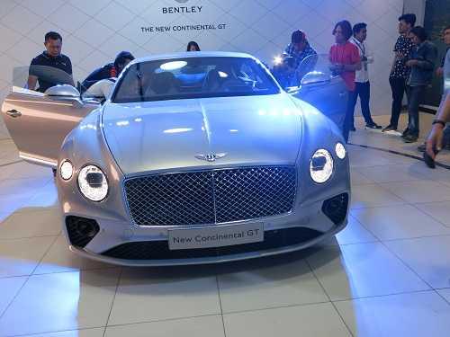 New Bentley Continental GT, Meluncur Perdana di Asia Tenggara