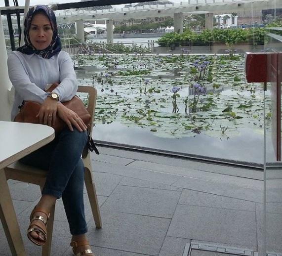 Potret Anita Dewi Farida, Wanita yang Digugat Cerai Abdee Slank