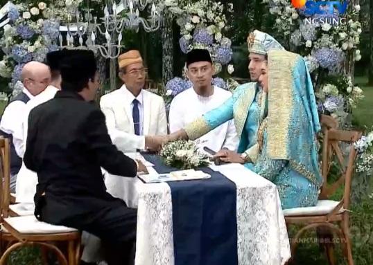 Sempat Gagal Ucapkan Kabul, Ammar Zoni dan Irish Bella Resmi Suami-Istri