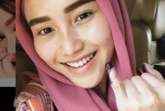 Raffi Ahmad Merapat ke Jokowi, Ayu Ting Ting Coblos Prabowo
