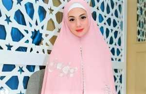 Didoakan Jadi Mualaf Setelah Pakai Hijab Syar'i, Ini Kata Celine Evangelista