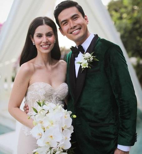 5 Potret Pernikahan Romantis Christian Bautista dan Kat Ramnani di Bali