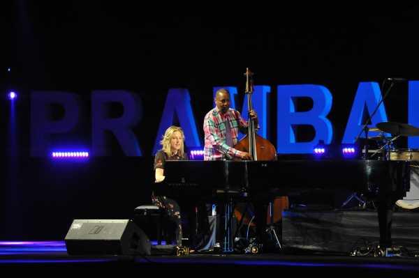 Diana Krall Puji Prambanan Jazz adalah Panggung Terindah