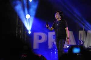 Dewa 19 ft. Ari Lasso tampil di Prambanan Jazz 2018