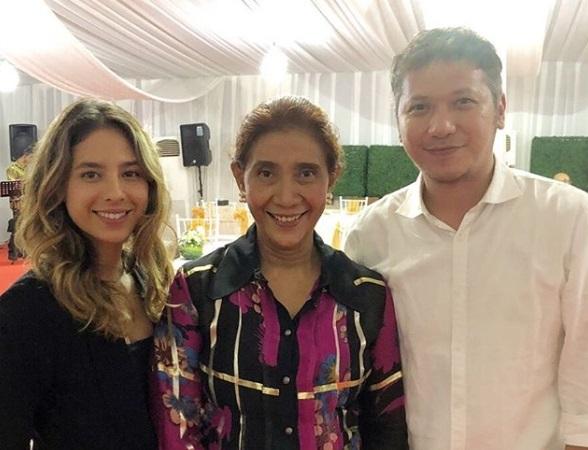 Roy Marten Komentari Foto Gading Bersama Putri Menteri Susi yang Cantik