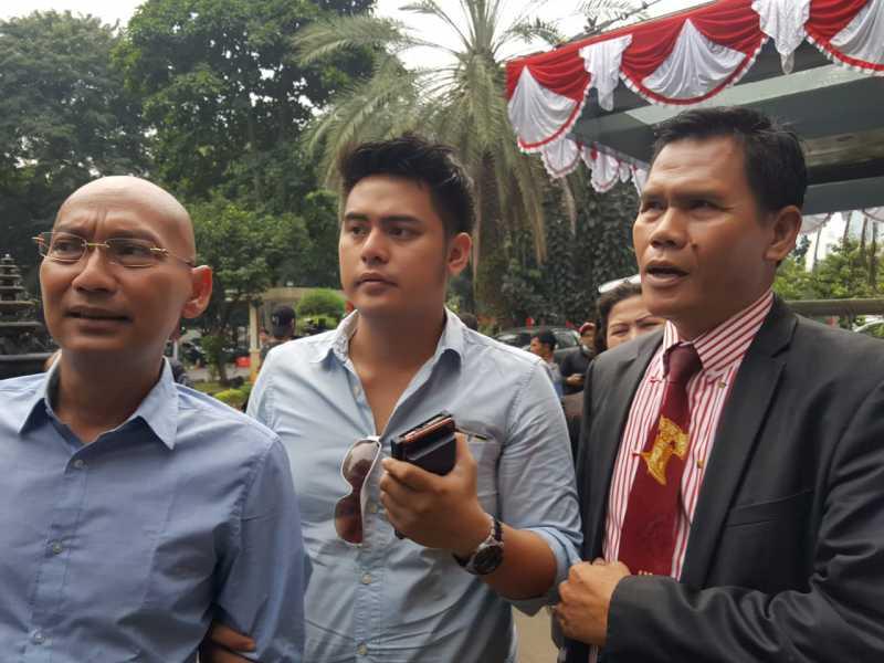 Foto Galih Ginanjar Sedang Diperiksa Penyidik, Terlihat Kusut