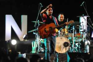 Glenn Fredly tampil di Prambanan Jazz 2018