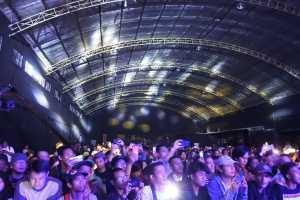 Iwan Fals gelar eConcert Nyanyian Yang Tersimpan di Live Space, Jaksel, Minggu (16/12/2018).