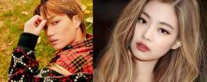 Baru Sebulan Pacaran, kok Jennie Blackpink dan Kai EXO Putus?
