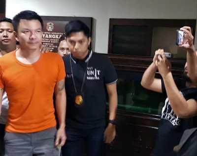 Ditangkap Kasus Narkoba Jerry Aurum Minta Maaf ke Keluarga