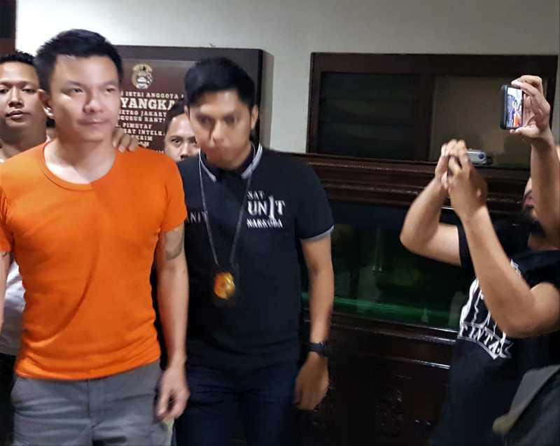 Ditangkap Kasus Narkoba, Jerry Aurum Minta Maaf ke Keluarga