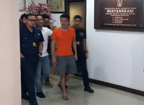 Jerry Aurum Ditangkap saat Denada Rawat Anak Sakit di Singapura