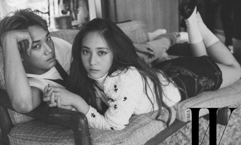 Kisah Kai EXO Pacaran Kemudian Putus dengan Krystal f(x)