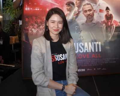 Di Film 'Susi Susanti', Laura Basuki Lagi-lagi Ciuman dengan Dion Wiyoko