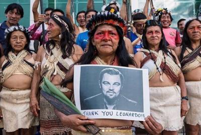 Kebakaran Hutan Amazon, Leonardo DiCaprio Sumbang Rp71 Miliar