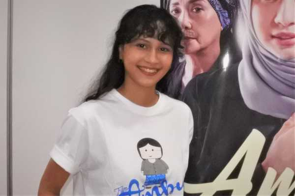 Lutesha Nangis Bombay saat Baca Skrip Film 'Ambu'