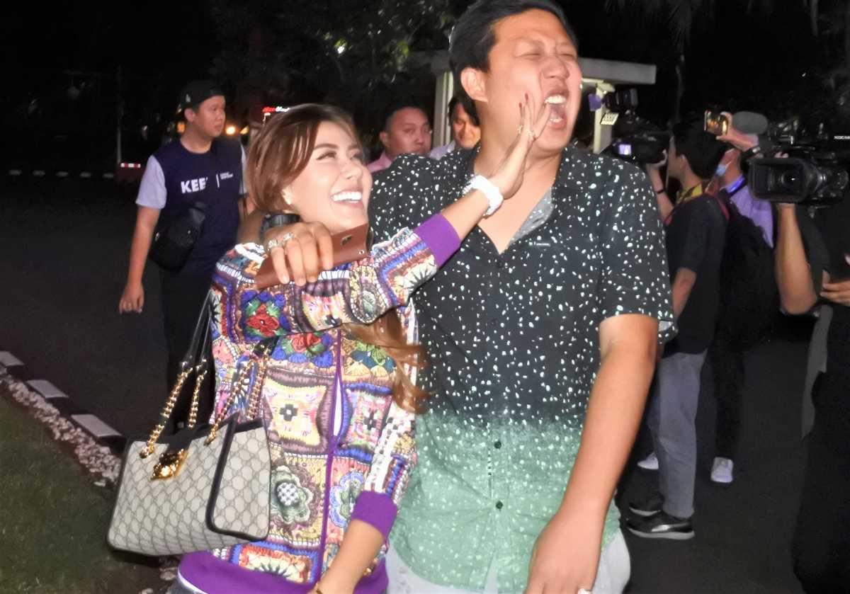 FOTO: Rey Utami dan Pablo Benua Datangi Polda Metro, Lapor Balik Fairuz?