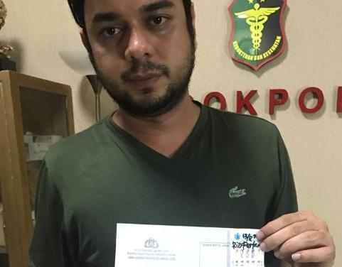 Detik-detik Rio Reifan Ditangkap Bersama Barang Bukti Narkoba