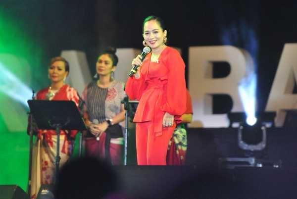 Sheila Majid Masih Dicintai Indonesia saat Tampil di Prambanan Jazz 2018