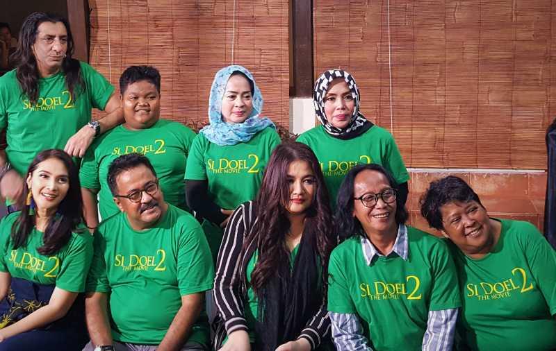 'Si Doel The Movie 2' Tayang Hari Lebaran, Ini Foto Para Pemain