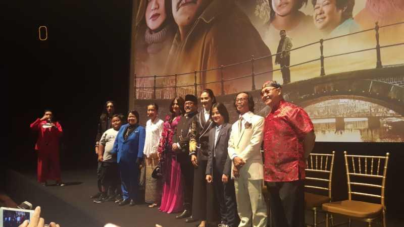 Foto Kemeriahan Hari Pertama Gala Premier Si Doel The Movie di Jakarta