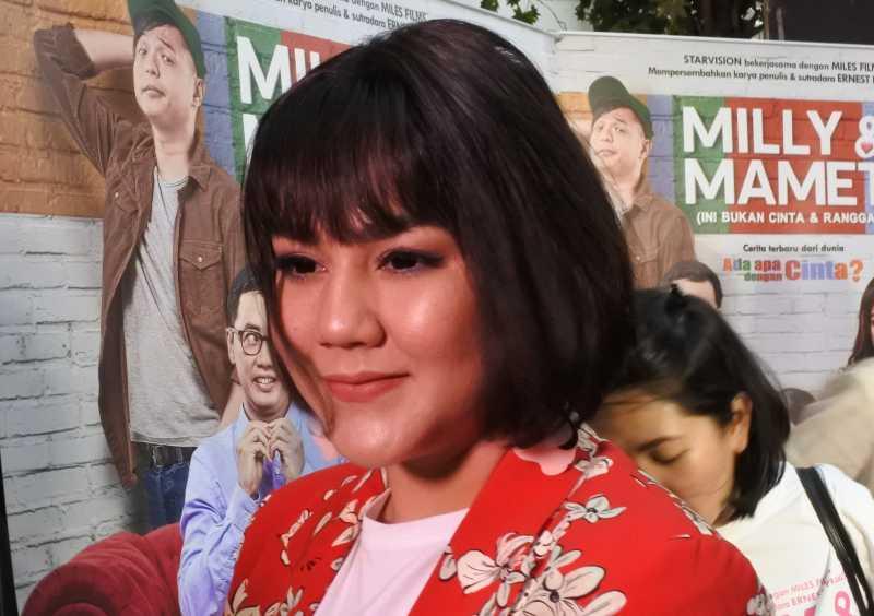 Film \'Milly & Mamet\' Pecah Banget, Sissy Priscillia Malah Gugup