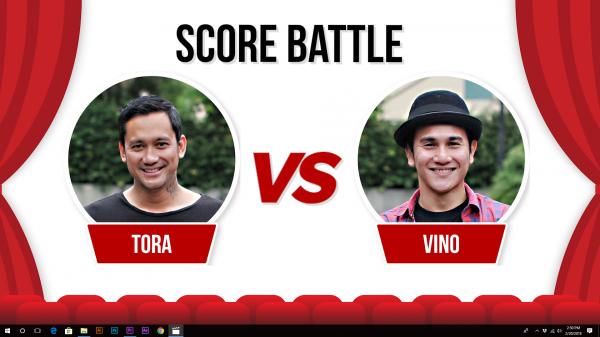 Tora dan Vino Tebak-tebakan <i>Score</i> Film, Siapa Paling Jago?