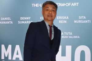 Gala premiere film A Man Called Ahok di Epicentrum XXI, Kuningan, Jakarta Selatan, Senin (5/11/2018).