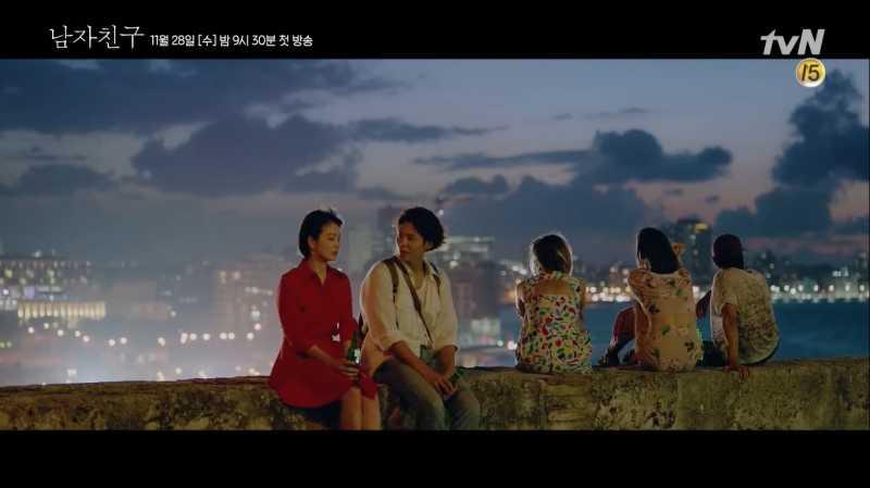 Syuting Drama Korea 'Encounter' di Kuba, Ini Kata Song Hye Kyo dan Park Bo Gum