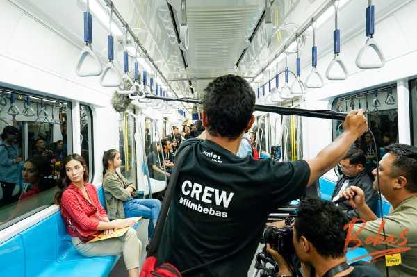 'Bebas' Jadi Film Pertama  yang Syuting di MRT Jakarta
