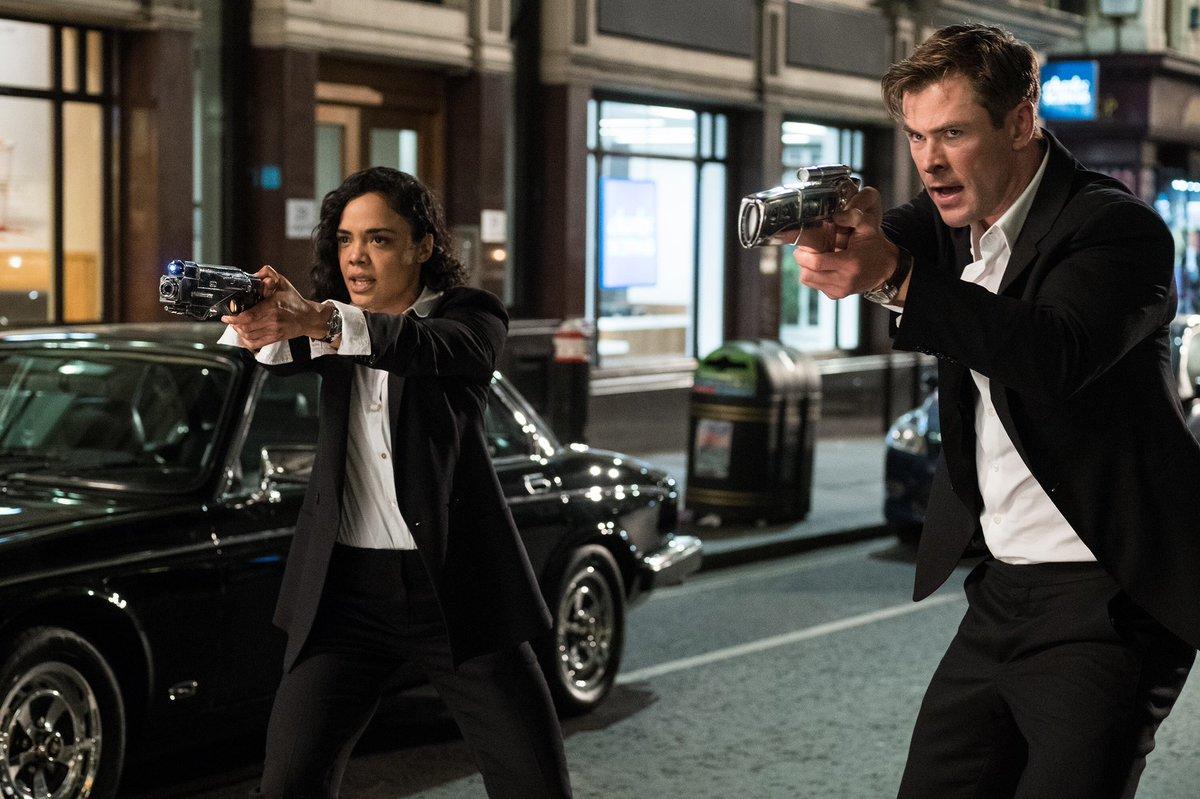 Ketika Sang Thor Jadi Agen Rahasia di Trailer 'Men in Black: International'
