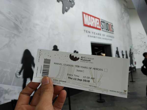 Berkunjung ke Marvel Studio Singapura,Selfie Bareng Iron Man Sampai Thanos