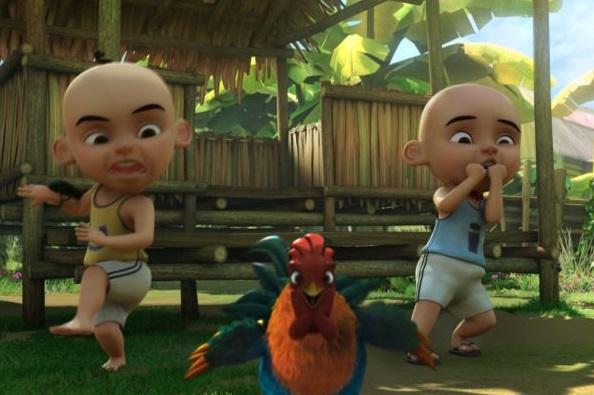 Ada Kisah Bawang Merah Bawang Putih di Film 'Upin Ipin The Movie'