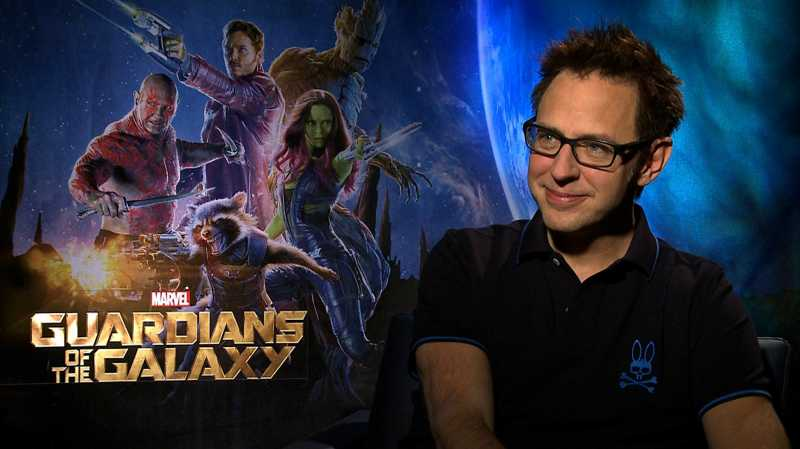 Disney Rekrut Balik James Gunn Demi 'Guardians of the Galaxy'