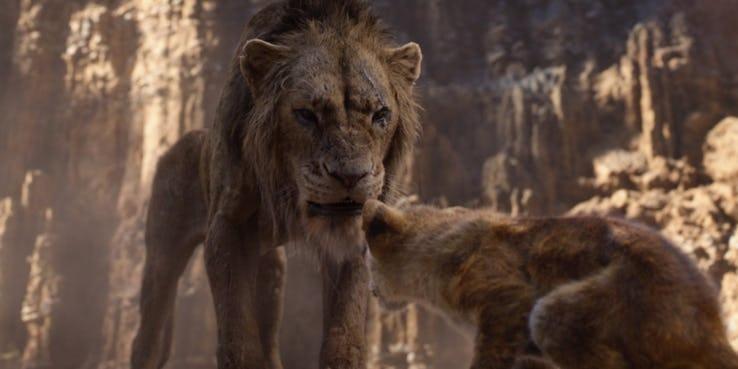 Wujud Scar si Singa Jahat di 'The Lion King' Akhirnya Muncul