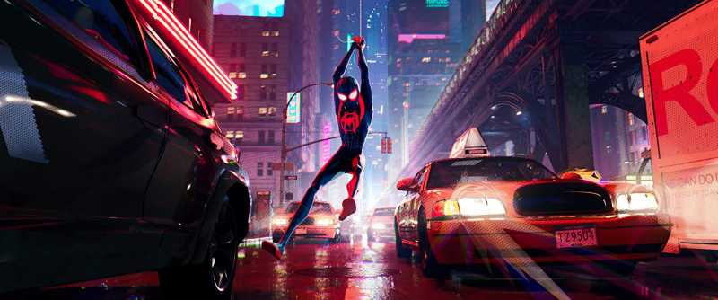 'Spider-Man: Into the Spider-Verse' Sabet Piala Golden Globe