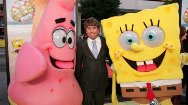 Abu Kreator SpongeBob Ditabur di Lautan