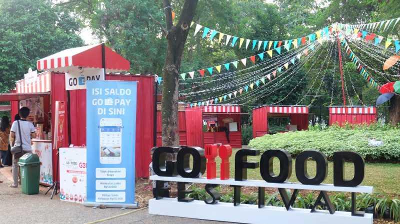 <i>Nongkrong</i> di Go-Food Festival GBK, Suasananya Bikin Betah!